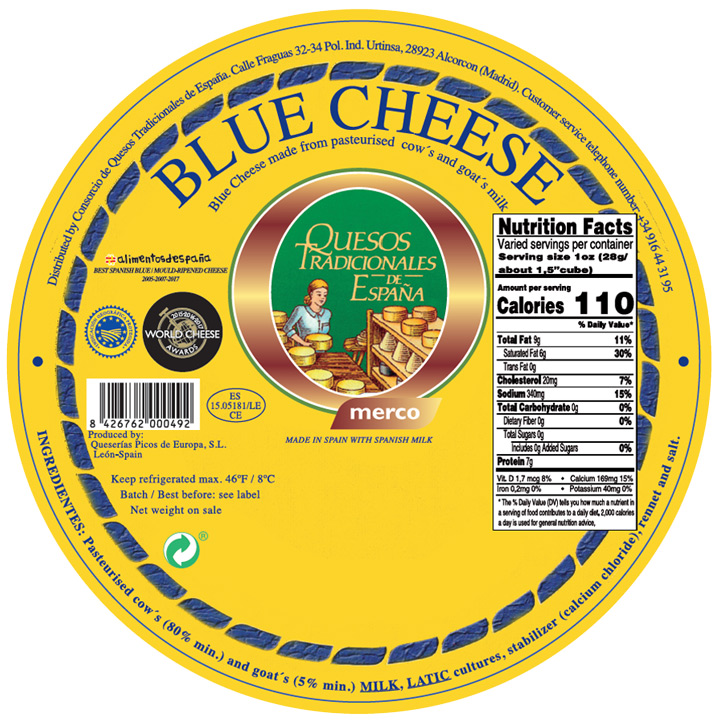 Tradicional España Blue Cheese