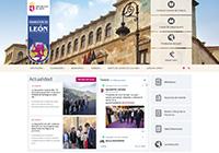 Web Ayuntamiento Valdeón
